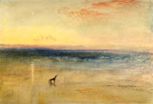 Dawn after the Wreck circa 1841 by Joseph Mallord William Turner 1775-1851